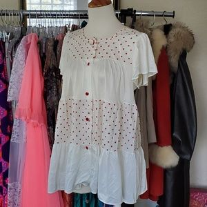 Vintage Heart nightgown